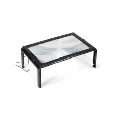 Μεγάλος hands free μεγεθυντικός φακός με φως LED για ανάγνωση και άλλες χρήσεις OEM