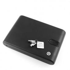 Φορητό βιομετρικό χρηματοκιβώτιο δακτυλικών αποτυπωμάτων με καλώδιο ασφαλείας OEM