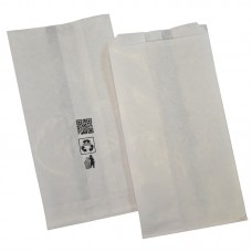 Χάρτινες σακούλες λευκές μεγάλες.