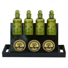 Βάση τοποθέτησης προϊόντων Amenities, πλαστική ΜΑΥΡΗ AM-305/BK