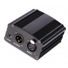 Τροφοδοτικό 48V Phantom για πυκνωτικά μικρόφωνα ΟΕΜ SPW-001