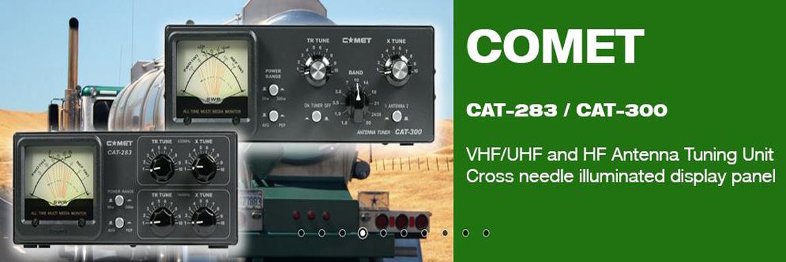 Comet CAT-293 and CAT-300