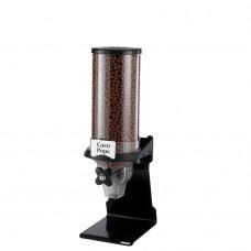 Διανεμητής Δημητριακών PROFIT με μάυρη βάση και 1 διαφανές δοχείο 6 λίτρων GARIBALDI CST01-160-BK