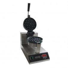 Επαγγελματική Βαφλιέρα, 1300W, ανοξείδωτη, Φ18cm, COLORATO