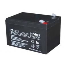 Μπαταρία μολύβδου Power Kingdom PS12-12 12Volt-12Ah