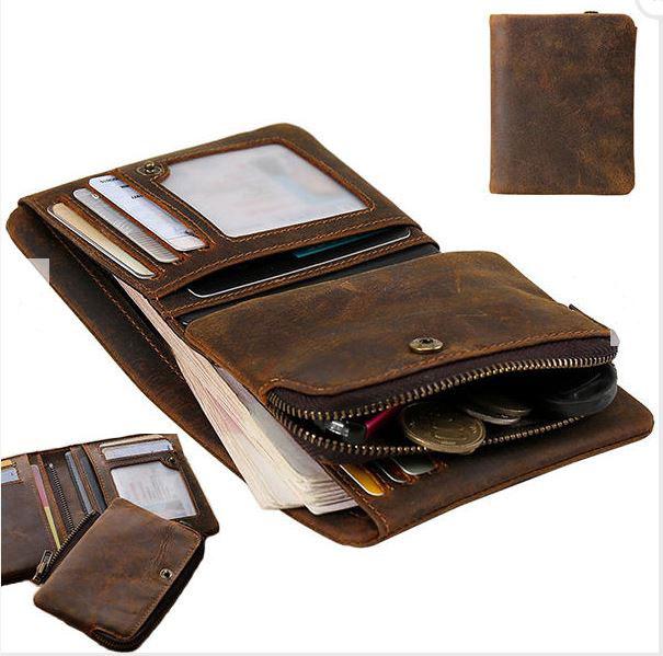 e9782bdf56 Ανδρικό δερμάτινο πορτοφόλι multicard με αποσπώμενη θήκη OEM